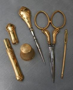 Набор для шитья, конец XIX века