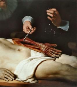"""""""Урок анатомии доктора Тульпа"""", Рембрандт. фрагмент"""