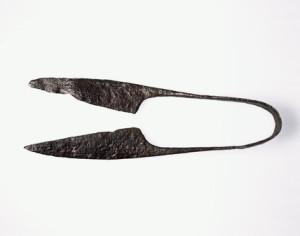 Римские железные ножницы