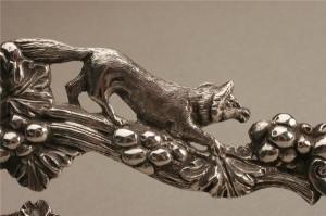 Серебряные французские часы, XIX век
