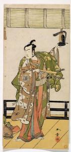 Актер в роли самурая