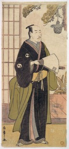 Актер в роли монаха