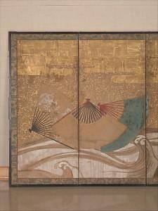 Веера на волнах. XVII век. фрагмент