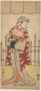 Сегава Кикунойо Третий в роли женщины. 1788 г.